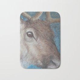 Reindeer (Rangifer tarandus) Bath Mat