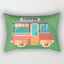 Coffee Van Rectangular Pillow