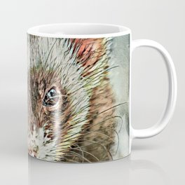 Toony Ferret 1 Coffee Mug