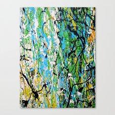 Echoed Splatter Canvas Print
