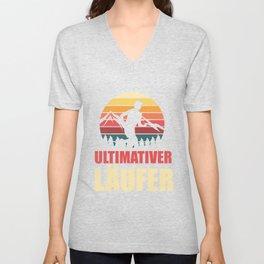 Ultimate Runner - Marathon Unisex V-Neck