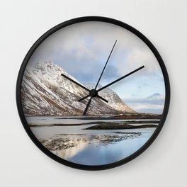 Lofoten Islands Wall Clock