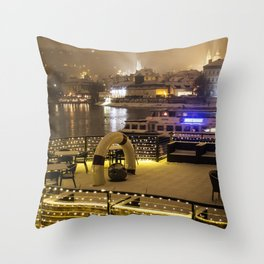 Prague 4 Throw Pillow