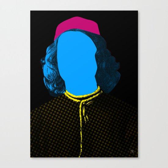 Pop Portrait Disaster 3 Canvas Print