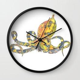 Blue-ringed Octopus Wall Clock