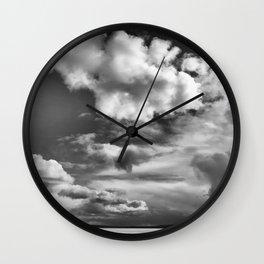 Dark Clouds #clouds Wall Clock