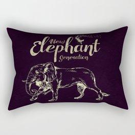 New Elephant Generation Rectangular Pillow
