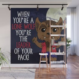 Lone Wolf Wall Mural