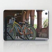 bikes iPad Cases featuring Bikes by Photaugraffiti