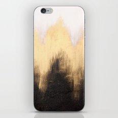Metallic Abstract iPhone Skin