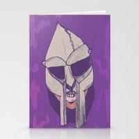 mf doom Stationery Cards featuring doom 2.0 by Rashida Chavis