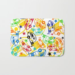 Candy Colored T@Bs Bath Mat