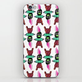 Voodoo Doll Pattern iPhone Skin