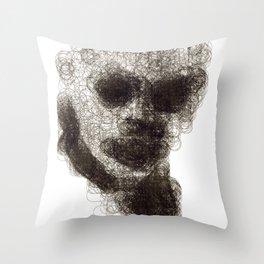 Circles #1 Throw Pillow