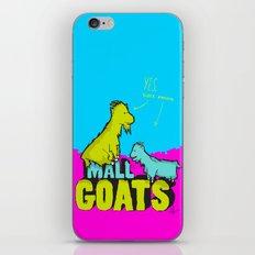Mall Goats iPhone & iPod Skin
