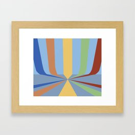 The Rainbow Room Framed Art Print