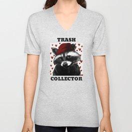 Guilty Raccoon Trash Collector Unisex V-Neck
