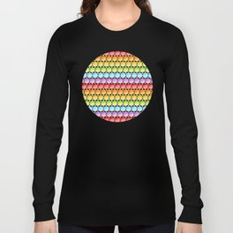 Rainbow Dotty Stripes Long Sleeve T-shirt