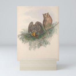 033 Scops Owl scops zorca4 Mini Art Print