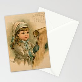 Canadian Girl Maud Humphrey Stationery Cards