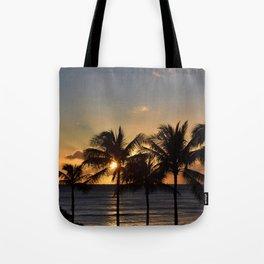 Waikiki Sunset Tote Bag