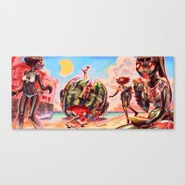 Summer Girls 7.0 Canvas Print