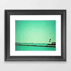 Navy Pier Lighthouse Framed Art Print