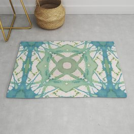 South Pacific Ink Rug