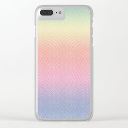 Unicorn Rainbow Bliss Clear iPhone Case