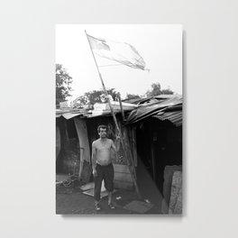 Poverty In Santiago I Metal Print