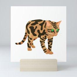Simple Bengal Mini Art Print