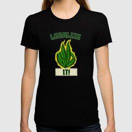 Marijuana Legalize It T-shirt