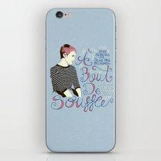 À bout de souffle - aleroundyou X f_e_l_i_x_x iPhone & iPod Skin