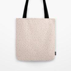 PolkaDots-Rose on Peach Tote Bag