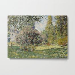 Landscape: The Parc Monceau Metal Print
