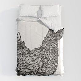 Ink Chicken Comforters