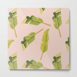Tropical '17 - Solar [Banana Leaves] Metal Print