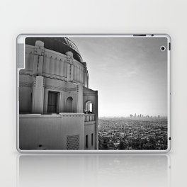 Griffith Park Observatory And Downtown Los Angeles Laptop & iPad Skin
