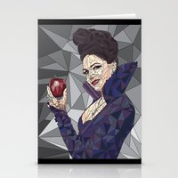 ouat Stationery Cards featuring Regina - OUAT by aesthetic_vampy