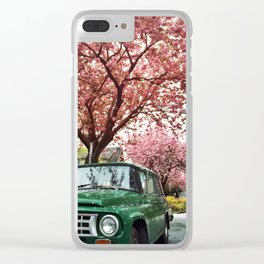 Spring Blossoms, Vancouver British Columbia Clear iPhone Case
