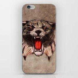 Savage Bobcat iPhone Skin