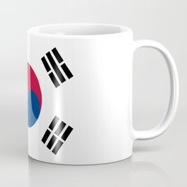 South Korean Flag Coffee Mug