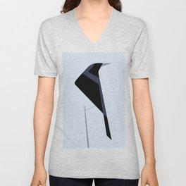 Tordo / Austral blackbird Unisex V-Neck