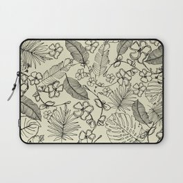 Tropical doodle Laptop Sleeve