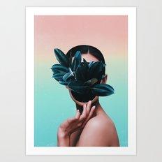 FACE PLANT Art Print