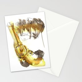 Cards & Gun Stationery Cards