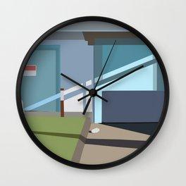 the garage Wall Clock
