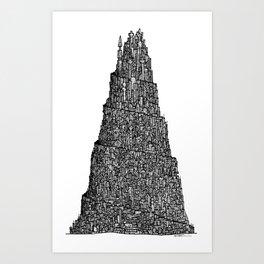 The Human Anthill Art Print