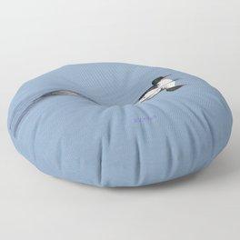 Mergansers on the Kenai Floor Pillow