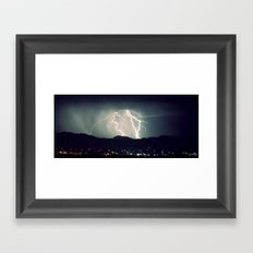 Over the Mountain II  Framed Art Print